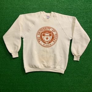 Vintage 80's University of Texas NCAA Crewneck
